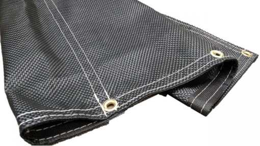 High Strength Mesh Tarp for Standard Rolloffs-0