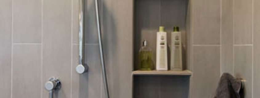 Shower Niches Shelves And Benches Harrell Remodeling Inc