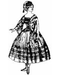 Civil War Ladies Special Occassion Patterns