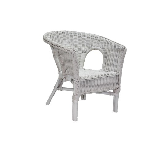childs rattan chair white wooden childrens wicker chairs harriets home and garden