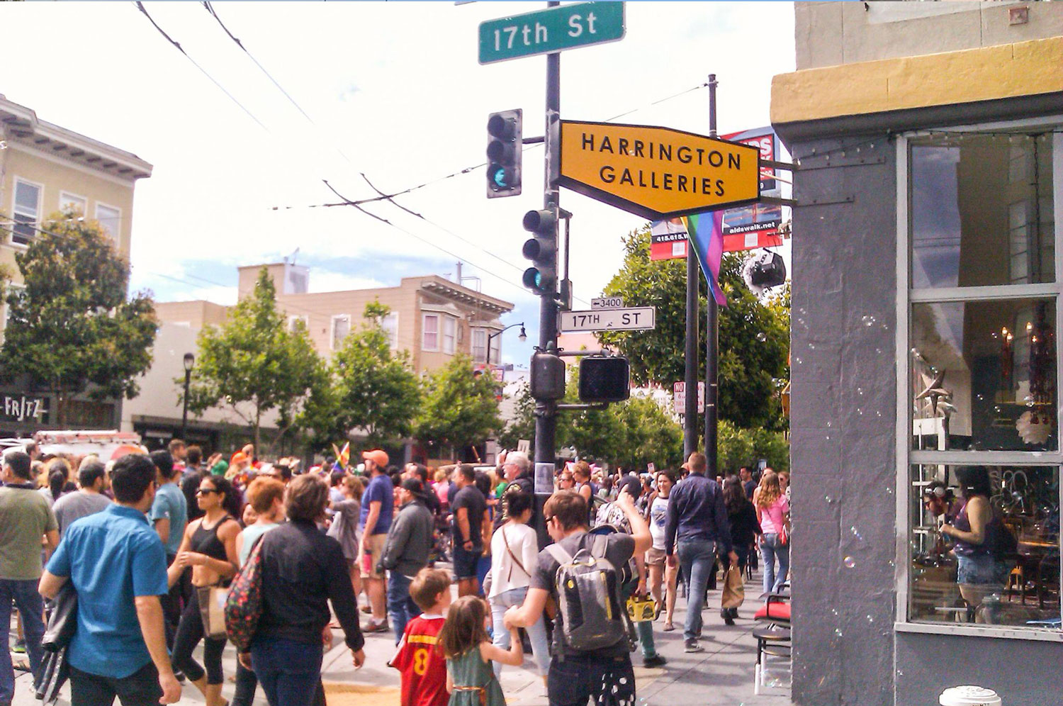 Harrington Galleries - Mission District - Community Events