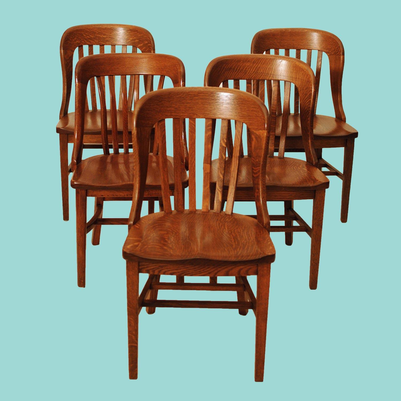 Harrington Galleries - Appraisals - Oak Chairs