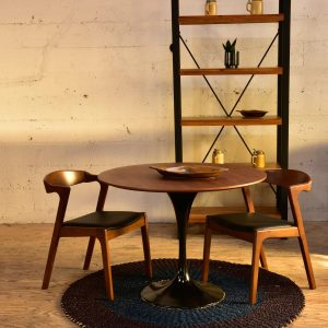 Mid century modern style dining table and chairs