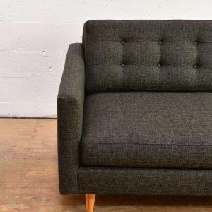 Mission Sofa in Dark Tweed