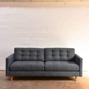 Mission Sofa in Promo Denim Fabric