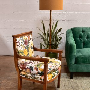 Antique Arm Chair in Floral