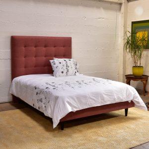 Jackson Modern Upholstered Custom Queen Bed