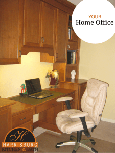 5 Tips to Help You Create Your Home Office