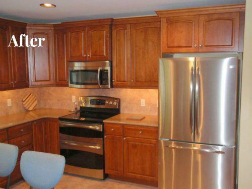 retrofitting kitchen for over the range