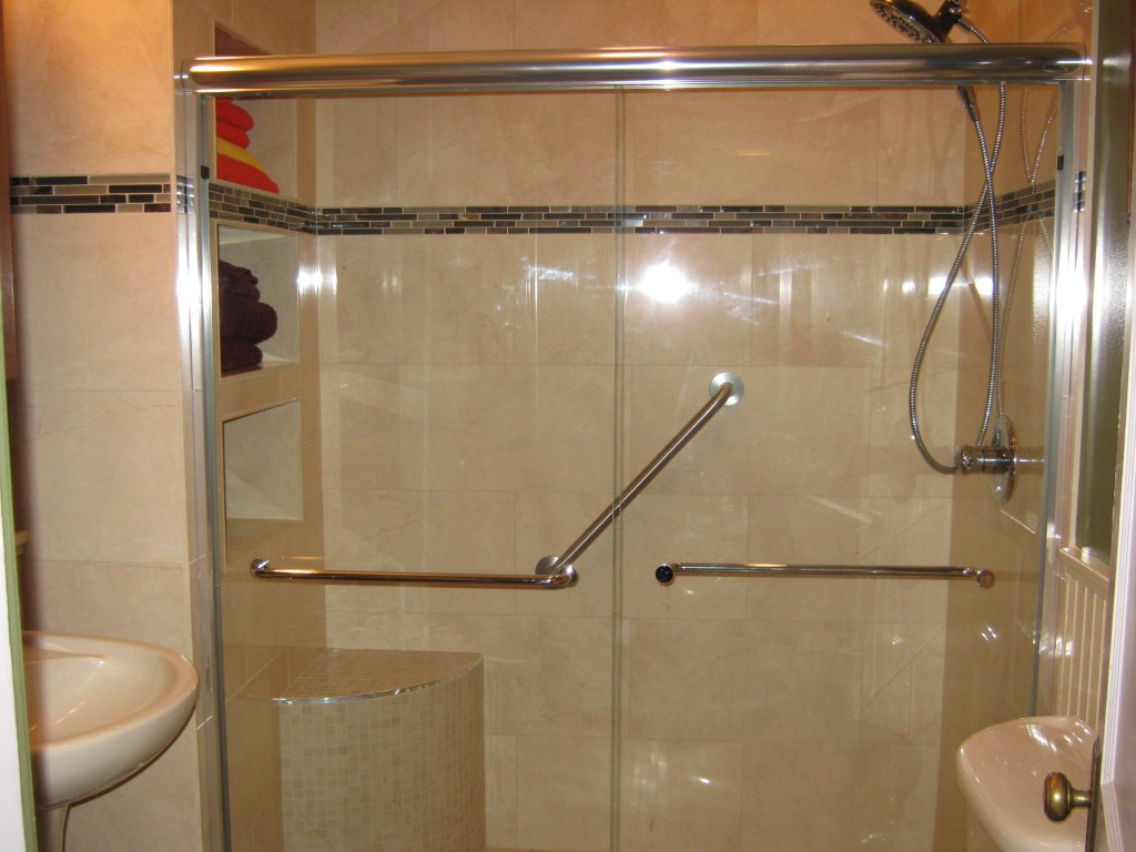 small space luxury shower remodel (B-71)