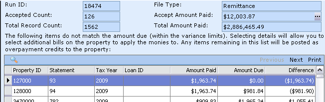 mortgage pay imported payment