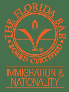 placa certificada imigração advogado miami
