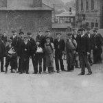 Factory gates around 1905