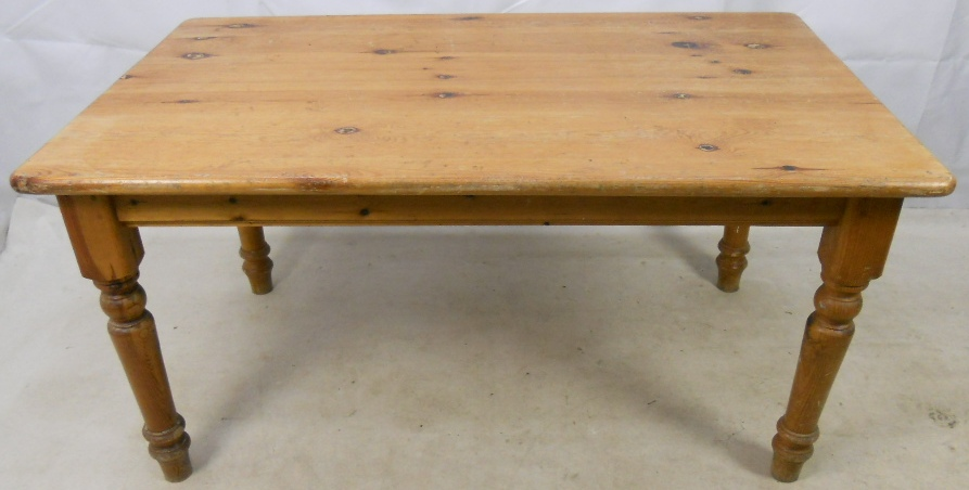 pine kitchen table weight scale farmhouse dining