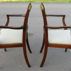 Dining Chair Styles Antique Ikea Bean Bag Set Of Eight Mahogany Style Chairs Sold