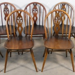 Windsor Kitchen Chairs Recliner Chair Risers Set Of Eight Style Dining By Ercol Sold 1760 P Jpg