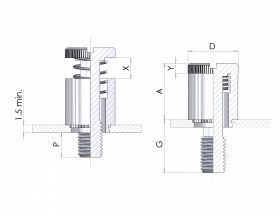 Self Clinch Panel Fastener at Harrison Silverdale