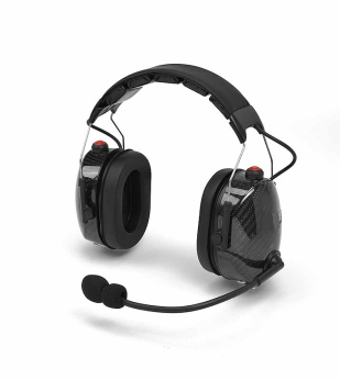 noise cancaling headset carbon