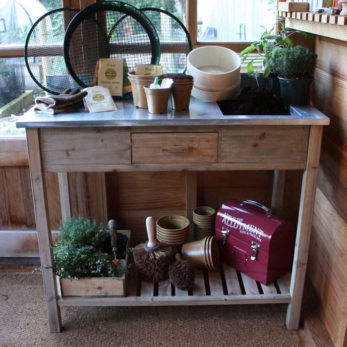 Indoor Potting Bench Harrod Horticultural Uk