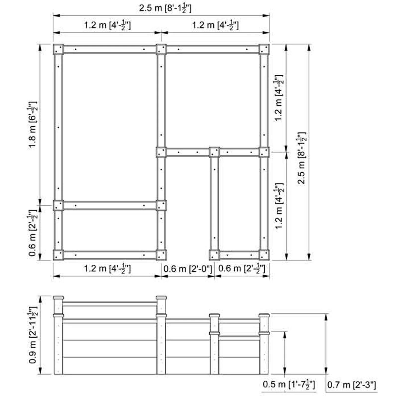 hight resolution of superior raised beds multi tier bespoke design enlarge superior