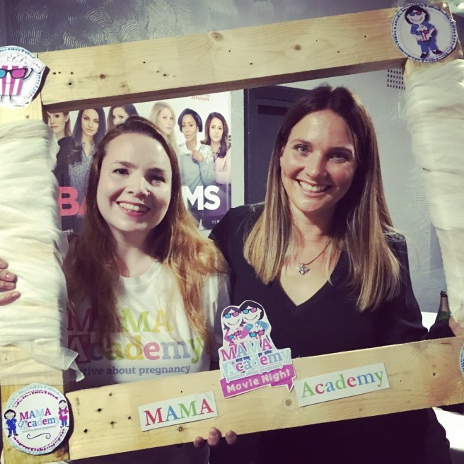 Harrogate Mama Blogger Lucy Playford (R) with Kate Mortimer from MAMA Academy charity raising money through the Harrogate 'Bad Moms' event .jpg
