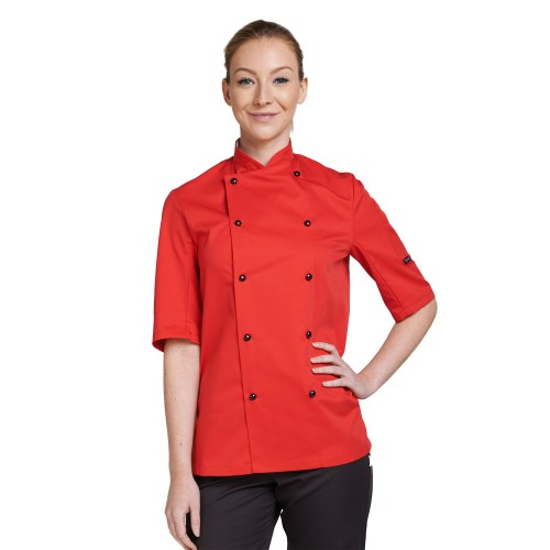 Dennys Chef Jacket – Long or Short Sleeved – Variety of Colours – Sizes XS-2XL