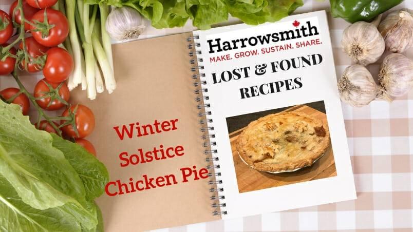 Winter Solstice Chicken Pie
