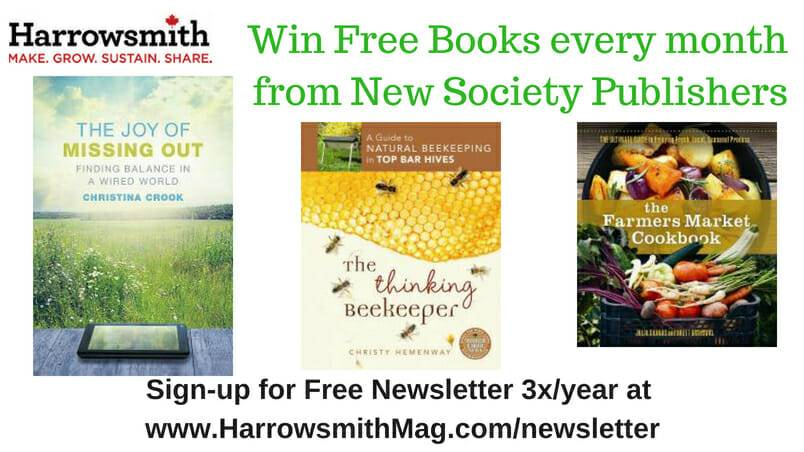 July Win Free Books from New Society Publishers
