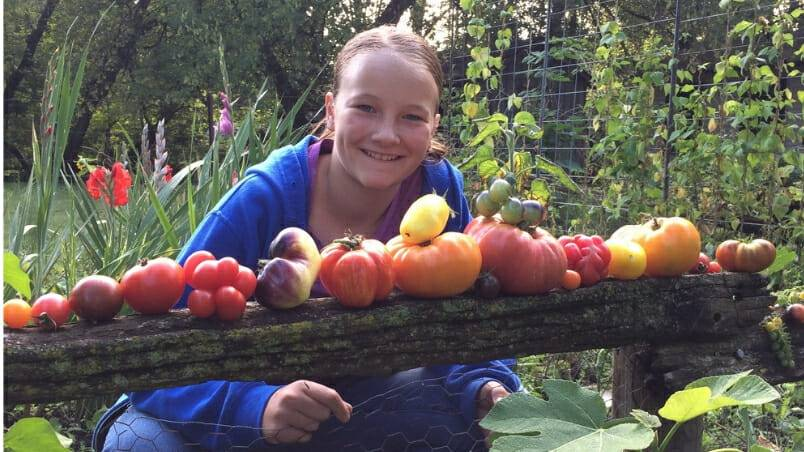 Harrowsmith Jr. – Emma's Tomato Patch