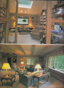 26. Library & living room, Our House