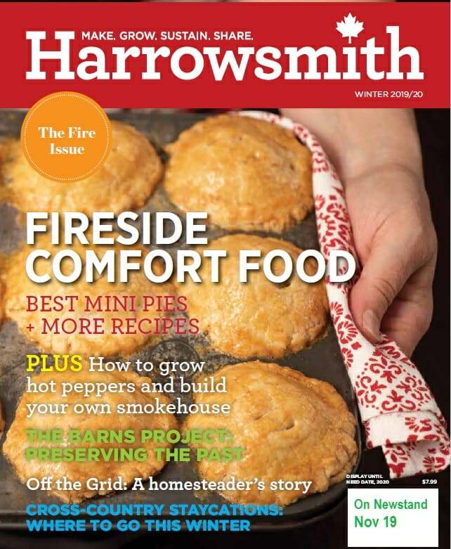Harrowsmith Winter 2019 Cover