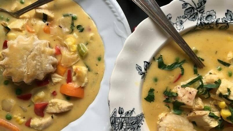 Chicken Pot Pie Soup, Harrowsmith Mag