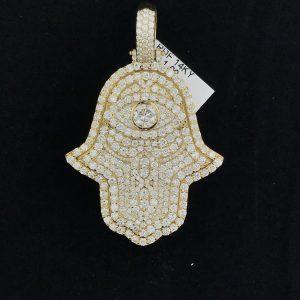 Harry Glinberg Jewelers - Diamond Hamsa Hand