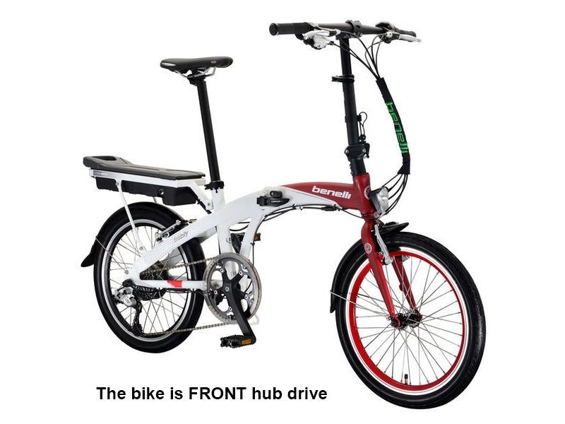 BENELLI City Zero Folder :: £899.99 :: Electric Bikes