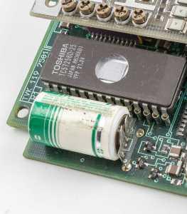Kombi exploderande batteri