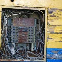 Electrical Panel Hazards 1994 4l80e Wiring Diagram Why Are Certain Panels Ineligible For Insurance If You Looks Like This Call An Electrician Immediately