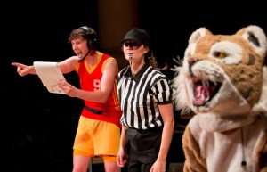 Hey Ref! when sport is both funny and a little bit pathetic - Hoke's Bluff. Pic Paul Blakemore