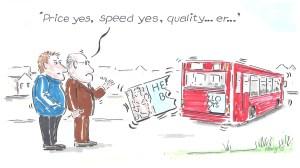 Latest cartoon for SignLink magazine...