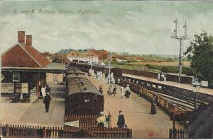Edwardian England: how things once look on the railways at Highbridge in 1904