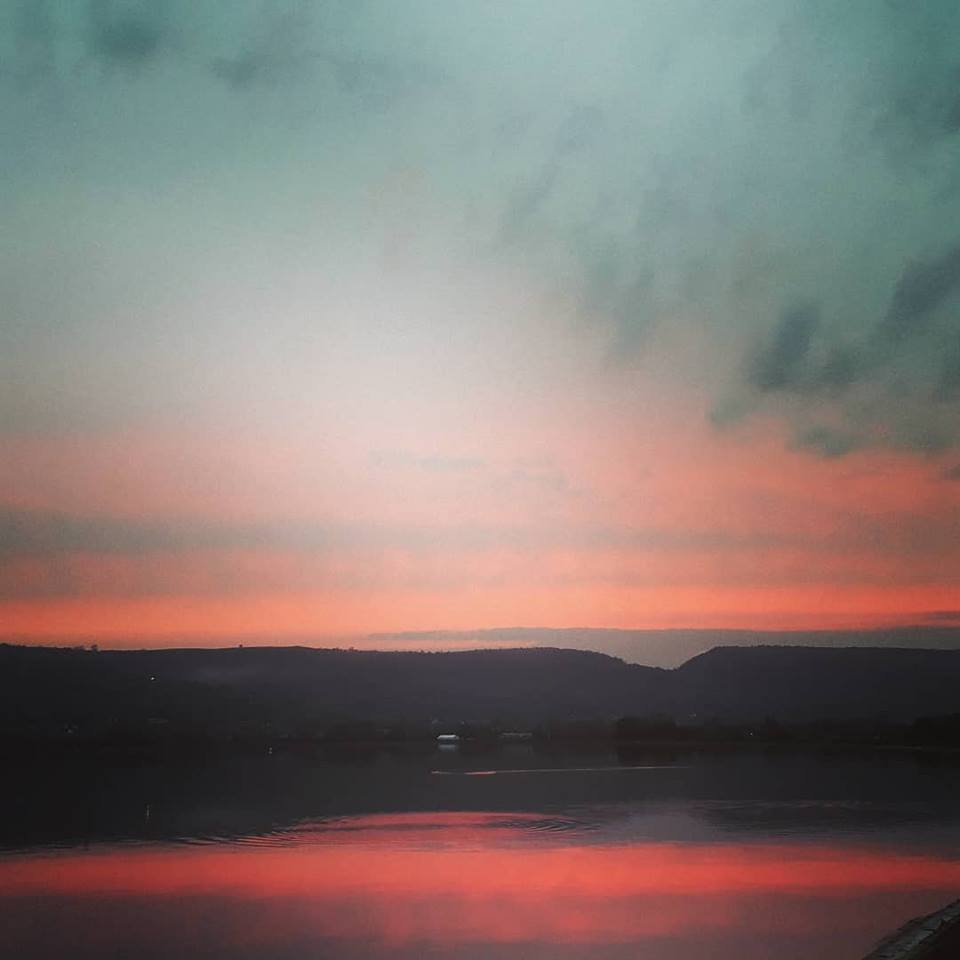 Cheddar Reservoir: recent photographs of the magical scene at dawn