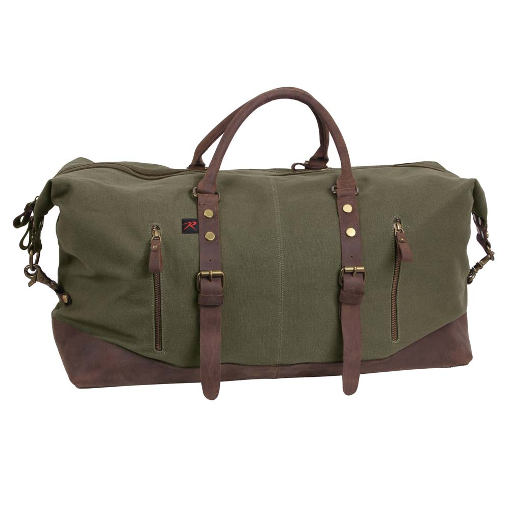 Rothco Extended Weekender Canvas Duffle Bag