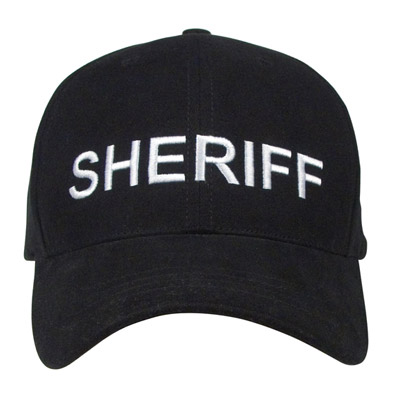 Sheriff Low Profile Baseball Cap  Supreme Baseball Hats