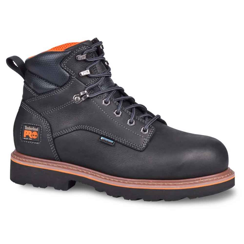 Timberland Pro Ascender Black 6Inch WP Work Boot TB0A16OP001
