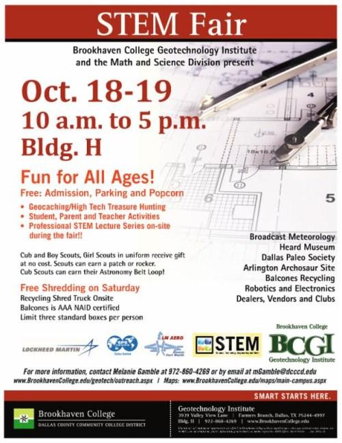 Brookhaven STEM Fair Fall 2014