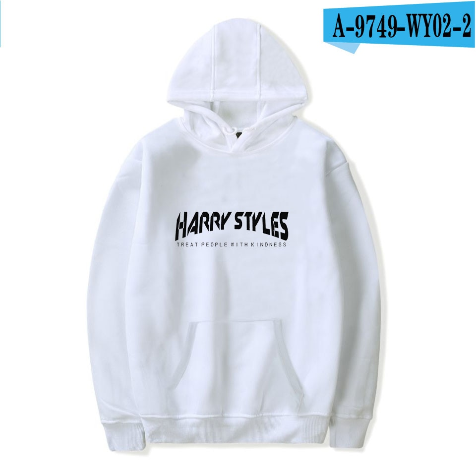 Harry Styles Treat People with Kindness Print Hoodie