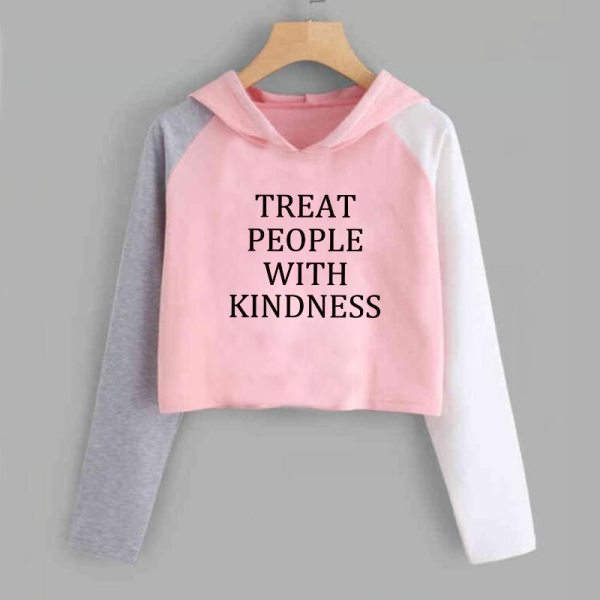 Harry Style Treat People with Kidness Cropped Hoodie