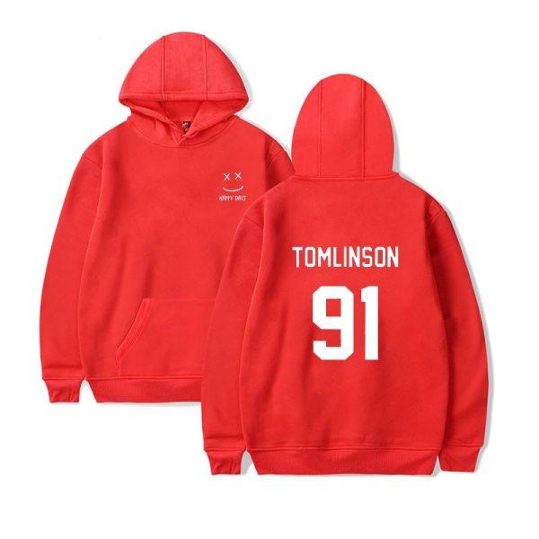 Louis Tomlinson 91 Harry Styles Hoodie