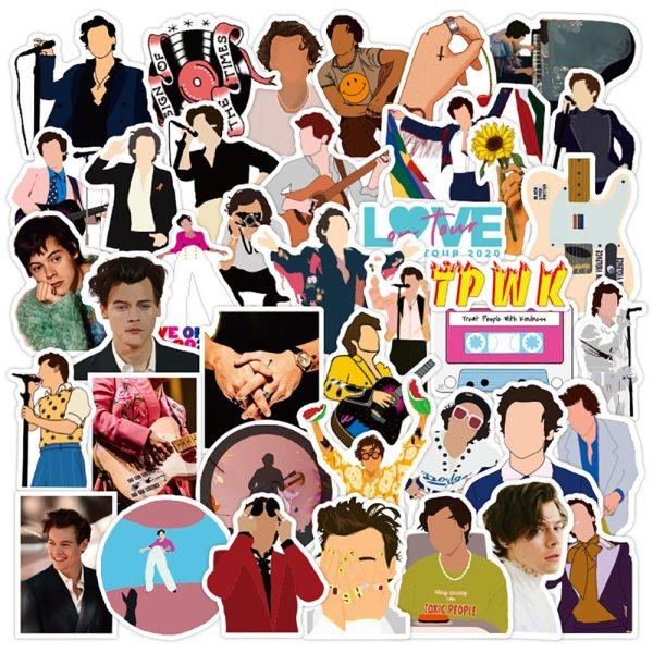 50/PCS Singer Harry Styles Cool Graffiti Stickers