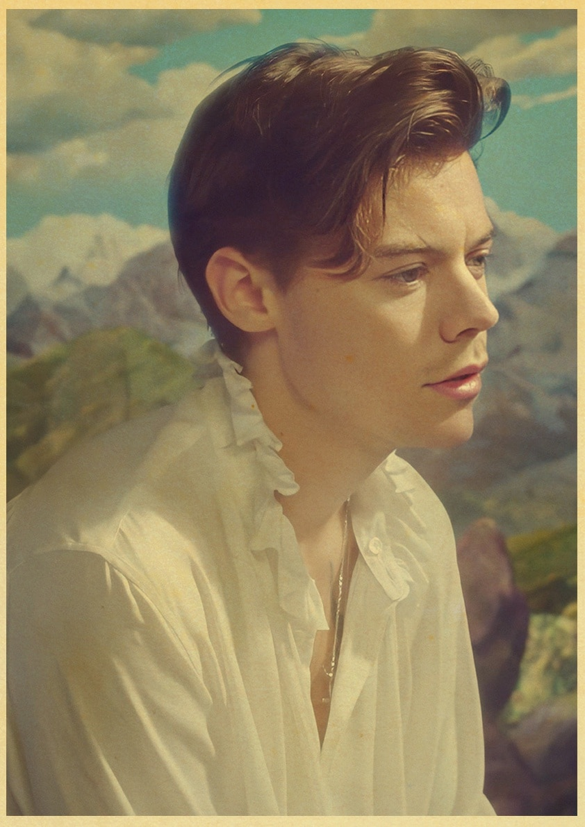 Famous British Singer Harry Styles Poster