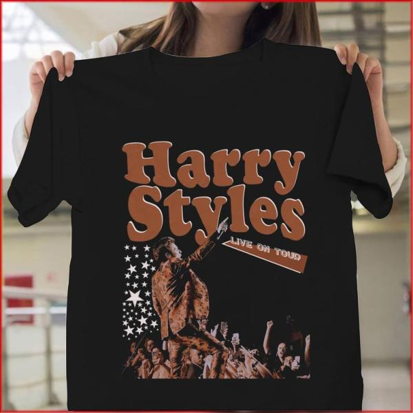 Live On Tour Harry Styles Gift Tee Shirt